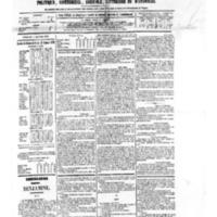 Le Journal de l'arrondissement de Valognes, numéro du 03 janvier 1879