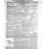 Le Journal de l'arrondissement de Valognes, numéro du 24 novembre 1928