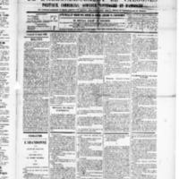 Le Journal de l'arrondissement de Valognes, numéro du 16 août 1889