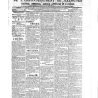 Le Journal de l'arrondissement de Valognes, numéro du 22 décembre 1905