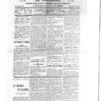 Le Journal de l'arrondissement de Valognes, numéro du 01 mars 1930