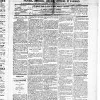 Le Journal de l'arrondissement de Valognes, numéro du 15 mars 1889
