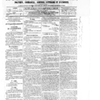 Le Journal de l'arrondissement de Valognes, numéro du 10 janvier 1879