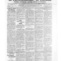 Le Journal de l'arrondissement de Valognes, numéro du 17 mai 1907