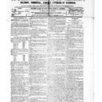 Le Journal de l'arrondissement de Valognes, numéro du 25 décembre 1885