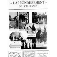 Le Journal de l'arrondissement de Valognes, supplément au numéro du 27 août 1932