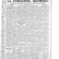 Le Bonhomme normand, numéro du 31 juillet 1914