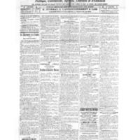 Le Journal de l'arrondissement de Valognes, numéro du 19 février 1921
