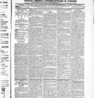 Le Journal de l'arrondissement de Valognes, numéro du 05 mai 1905