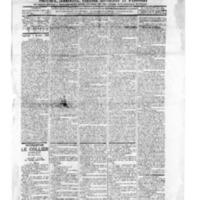 Le Journal de l'arrondissement de Valognes, numéro du 03 janvier 1896