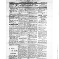 Le Journal de l'arrondissement de Valognes, numéro du 11 août 1928