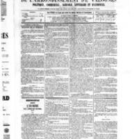Le Journal de l'arrondissement de Valognes, numéro du 16 avril 1875