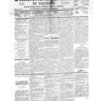 Le Journal de l'arrondissement de Valognes, numéro du 02 septembre 1939