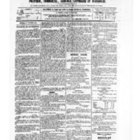 Le Journal de l'arrondissement de Valognes, numéro du 21 octobre 1881
