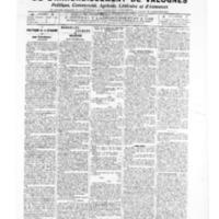 Le Journal de l'arrondissement de Valognes, numéro du 31 mai 1907