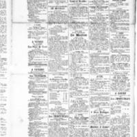Le Journal de l'arrondissement de Valognes, supplément au numéro du 13 septembre 1889