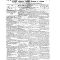 Le Journal de l'arrondissement de Valognes, numéro du 07 mars 1879