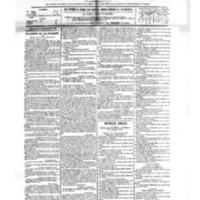 Le Journal de l'arrondissement de Valognes, numéro du 23 septembre 1882