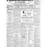 Le Journal de l'arrondissement de Valognes, numéro du 11 mai 1935