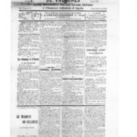 Le Journal de l'arrondissement de Valognes, numéro du 10 novembre 1928