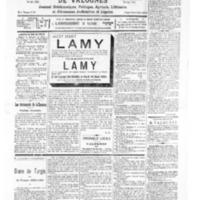 Le Journal de l'arrondissement de Valognes, numéro du 16 avril 1932