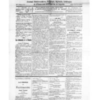 Le Journal de l'arrondissement de Valognes, numéro du 18 décembre 1926
