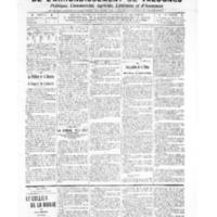 Le Journal de l'arrondissement de Valognes, numéro du 03 décembre 1909