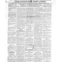 Le Journal de l'arrondissement de Valognes, numéro du 05 février 1921