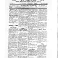 Le Journal de l'arrondissement de Valognes, numéro du 27 septembre 1930
