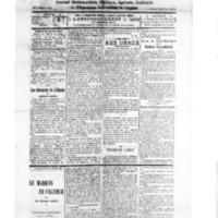 Le Journal de l'arrondissement de Valognes, numéro du 13 octobre 1928