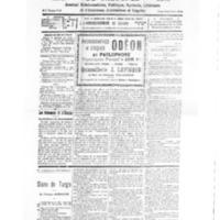 Le Journal de l'arrondissement de Valognes, numéro du 13 février 1932