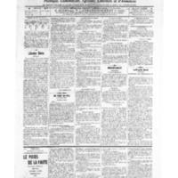 Le Journal de l'arrondissement de Valognes, numéro du 13 août 1909
