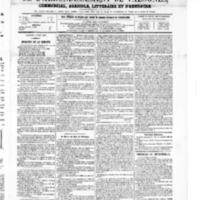 Le Journal de l'arrondissement de Valognes, numéro du 08 mai 1868