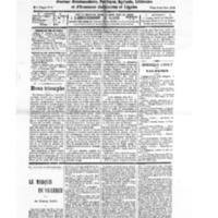 Le Journal de l'arrondissement de Valognes, numéro du 06 septembre 1930