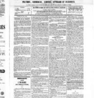 Le Journal de l'arrondissement de Valognes, numéro du 30 avril 1875