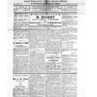 Le Journal de l'arrondissement de Valognes, numéro du 15 mai 1926
