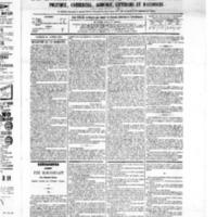 Le Journal de l'arrondissement de Valognes, numéro du 22 janvier 1875