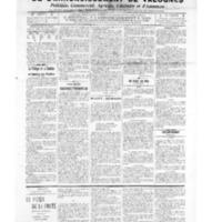 Le Journal de l'arrondissement de Valognes, numéro du 04 juin 1909