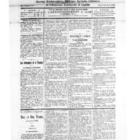 Le Journal de l'arrondissement de Valognes, numéro du 20 février 1926