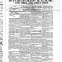 Le Journal de l'arrondissement de Valognes, numéro du 16 mai 1879