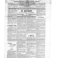 Le Journal de l'arrondissement de Valognes, numéro du 19 juin 1926