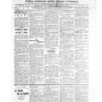 Le Journal de l'arrondissement de Valognes, numéro du 19 février 1909