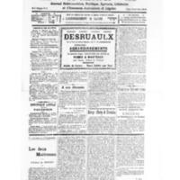 Le Journal de l'arrondissement de Valognes, numéro du 10 septembre 1932