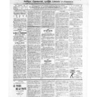 Le Journal de l'arrondissement de Valognes, numéro du 01 janvier 1909