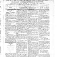 Le Journal de l'arrondissement de Valognes, numéro du 09 août 1867