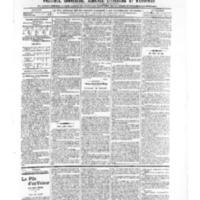 Le Journal de l'arrondissement de Valognes, numéro du 02 novembre 1906
