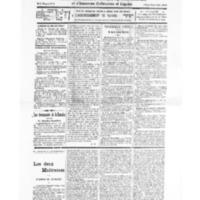 Le Journal de l'arrondissement de Valognes, numéro du 03 septembre 1932