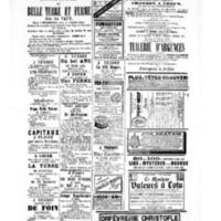 Le Journal de l'arrondissement de Valognes, supplément au numéro du 15 avril 1881