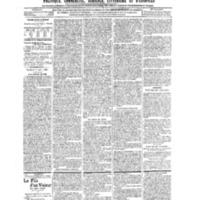Le Journal de l'arrondissement de Valognes, numéro du 17 août 1906