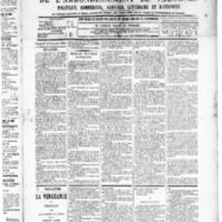 Le Journal de l'arrondissement de Valognes, numéro du 14 novembre 1890